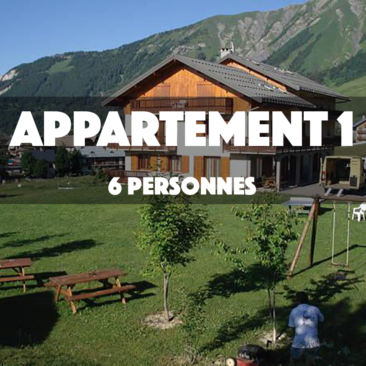 APPARTEMENT 1 – OMIKELY – 6 personnes