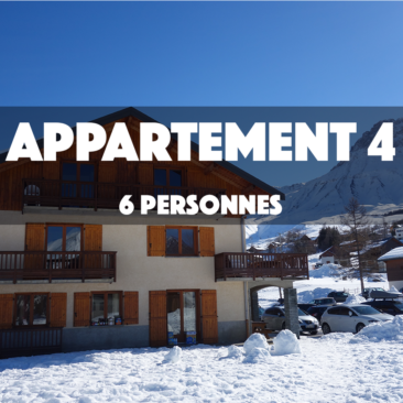 APPARTEMENT 4 – OMIKELY – 6 personnes