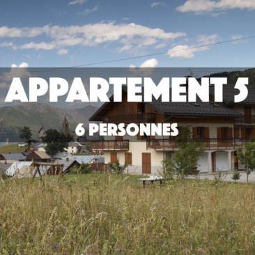APPARTEMENT 5 – OMIKELY – 6 personnes