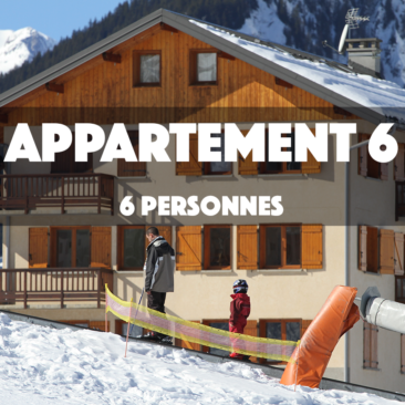 APPARTEMENT 6 – OMIKELY – 6 personnes