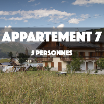 APPARTEMENT 7 – OMIKELY – 5 personnes