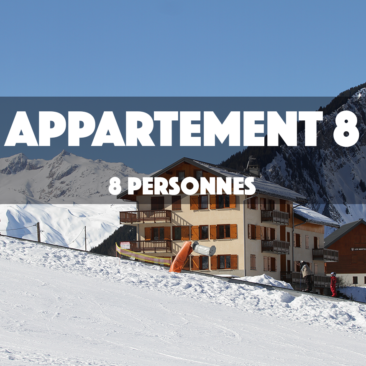 APPARTEMENT 8 – OMIKELY – DUPLEX 8 personnes