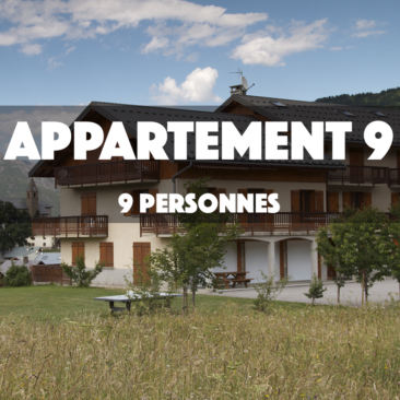 APPARTEMENT 9 – OMIKELY – DUPLEX 9 personnes